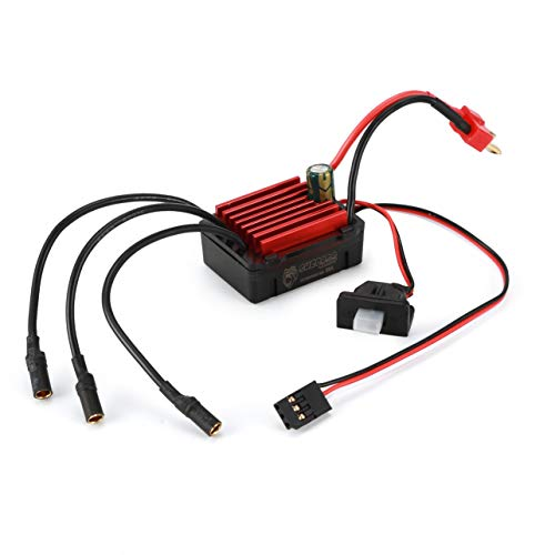 SURPASSHOBBY KK 35A Impermeabile Sensorless Speed   Controler 2-3S ESC per 1:14 1:16 modello di auto RC