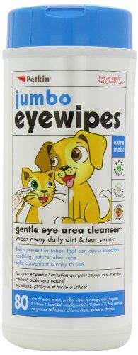 Petkin Jumbo Eye Wipes, Pack of 80 (pack of 4) 1