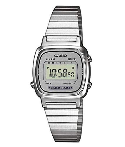Casio Collection Women's Watch LA670WEA-7EF, Grey