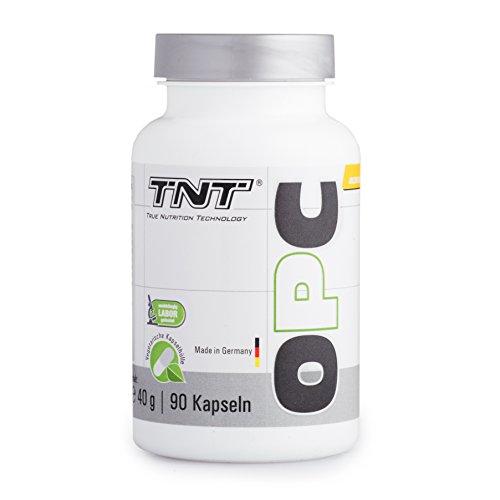 OPC Traubenkern-Extrakt Kapseln hochdosiert von TNT | Antioxidantien & Zellschutz | Vegetarisch | Immunsystem stärken | Premium Qualität aus Deutschland | 90 Kapseln