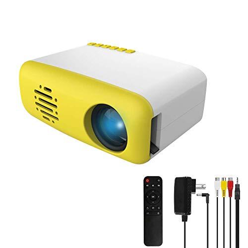 Ofertas 3T6B Mini Proyector para niños, Portátil Proyectors de Cine en Casa TFT LED LCD, Compatible con HDMI / AV / USB / Micro SD / TV Stick, para Entretenimiento en el Hogar