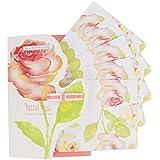 Heathcote & Ivory Blush Rose perfumada Cajón Liners, hoja de 5