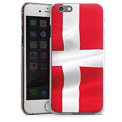 Apple iPhone 4 Housse Étui Silicone Coque Protection Drapeau Danemark Danemark Drapeau CasDur transparent