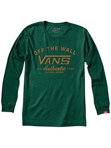 Herren Langarmshirt Vans Dalton T-Shirt Forest