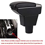 QFWCJ for Lada XRAY armrest Box Central Store Content Box with Cup Holder Ashtray USB Interface car-Styling Accessories Parts