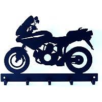Appendi chiavi appendichiavi MOTO tipo MULTISTRADA 2V 1000. Prodotto artigianalmente in Italia.