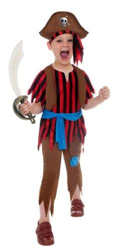 Générique - 350084 - Déguisement Corsaire Pirate Enfant - Taille S