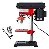 220V 500W Drill Press Bench Pillar Drill Press Bench 9 Speed Drill Chuck