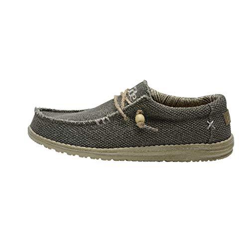Dude Shoes Die Wally Natürliche Armee Der Männer UK11 / EU45 -