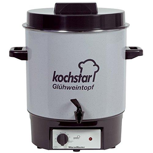 """Kochstar 99104035 Einkochautomat """"Warm Master"""" mit Auslaufhahn 35 cm"""