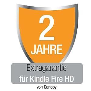 Extragarantie [2 Jahre] mit Unfall- und Diebstahlschutz für den neuen Kindle Fire HD, nur Deutschland