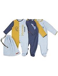 The Essential One - Baby Jungen Schlafanzuge/Schlafanzug/Einteiler/ Strampler - Blau - ESS196