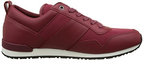 Tommy Hilfiger M2285axwell 11c2, Baskets Basses Homme Rouge (Biking Red)