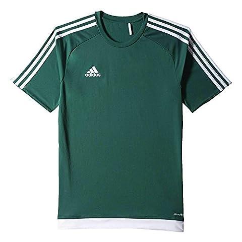 adidas Kinder Trikot Estro 15, Collegiate Green/White, 128,