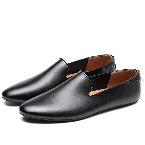 Der Bean-Übung (Sommer-neue lederne beiläufige Schuhe der Männer arbeiten Geschäfts-Müßiggänger-Schuhe Mokassins-Schuhe Männer PU-lederne zufällige faule Schuhe Bean's Schuhe der Männer)