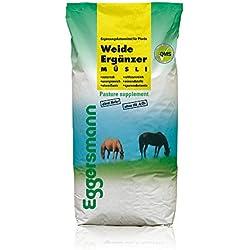 Futter für alle Pferde in der Weidesaison,Eggersmann Weide Ergänzer für Pferde, 1-er Pack (1 x 20 kg)
