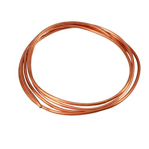2M weiches Kupferrohr-Rohr-OD 4mm x Identifikation 3mm für Abkühlung-Klempnerarbeit