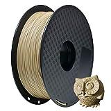 GEEETECH PLA Filamento 1.75mm 1kg Spool per Stampante 3D, Legno