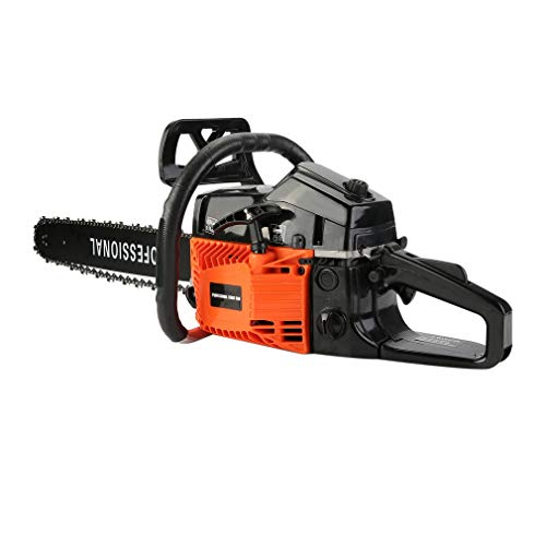 "Heavy Duty Petrol Chainsaw for Tree Cutting with 20"" Guide Bar 1"