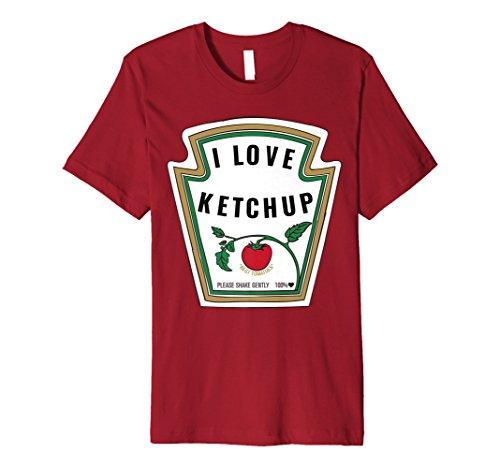 I Love Ketchup T-Shirt - Für echte -