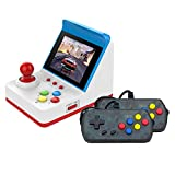"Festnight Retro Miniature Arcade Game Console Portable Handheld Game Machine 3"" Screen Dual Wired Joysticks 360 Classic Games Present Gift for Kids Support AV Out"