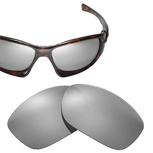 Cofery Ersatzgläser für Oakley Ten Sonnenbrillen - Verschiedene Optionen erhältlich, Unisex, Titanium - Non Polarized, Einheitsgröße