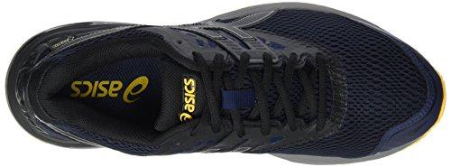 Asics Gel-Pulse 9 G-Tx, Scarpe Running Uomo Grigio (Peacoat/black/gold Fusion)