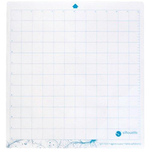 Silhouette 12,75x 11.75-inch leichtem Halt Schneidematte für Cameo, transparent