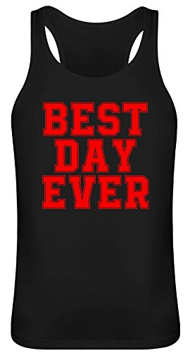 Tag überhaupt Day Ever Tank Top T-Shirt Jersey for Men & Women 100% Soft Cotton Unisex Clothing X-Large