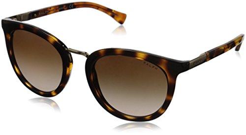 Ralph Lauren Ralph by Damen 0Ra5207 150613 52 Sonnenbrille, Braun Tortoise/Dark Brown Gradient