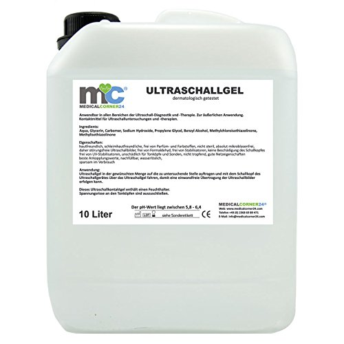 10 Liter Ultraschallgel Gel 10kg Kanister Sonographie Leitgel Reizstrom Ultraschallgel -