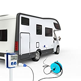 Poly Pool PP2701 Kit Per Camper Avvolgicavo + Prolunga Ideale In Campeggio Caravan Barca Cantiere