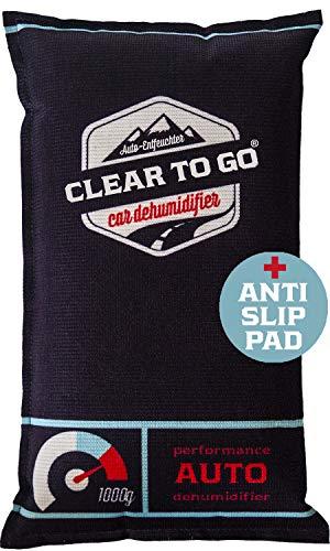 Clear To Go Auto Entfeuchter - Entfeuchter Kissen Für Beschlagene Autoscheiben - Luftentfeuchter für das Auto - 1kg Silikagel Auto, Wohnmobile - Feuchteabsorber - wiederverwendbarer Luftentfeuchter (Das Für Wohnmobil Luftentfeuchter)