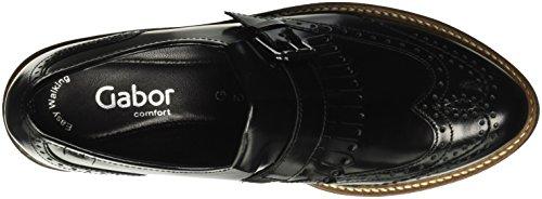 Gabor Shoes Comfort Sport, Mocassini Donna Nero (schwarz S.S/C)