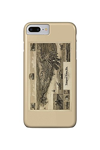 Newport News, Virginia - (1891) - Panoramic Map (iPhone 7 Plus Cell Phone Case, Slim Barely There)