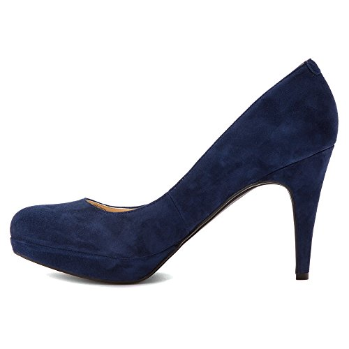 Marc Fisher Sydney 2 Synthétique Talons Compensés Dark Blue