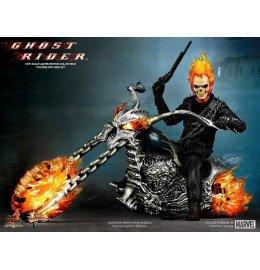 La figura de acción Ghost Rider con motocicleta Hellcycle Escala 1/6 de la colección de edición limitada