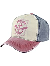 Belsen Damen Vintage Maritime Baseball Cap Snapback Trucker Hat
