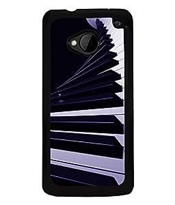 PrintVisa Plastic Multicolor Back Cover For HTC One M7 & M7