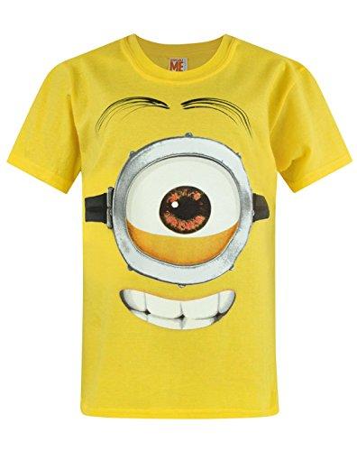Camiseta de Los Minions con diseño de ojo