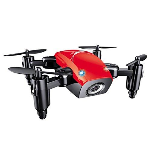 quadcopter kit de Sannysis 2.4G 6 Axis gyro Aviones plegables RC Quadcopter Drone profesional baratos con Control remoto - Movimiento continuo en 3D de 360 grados Helicóptero