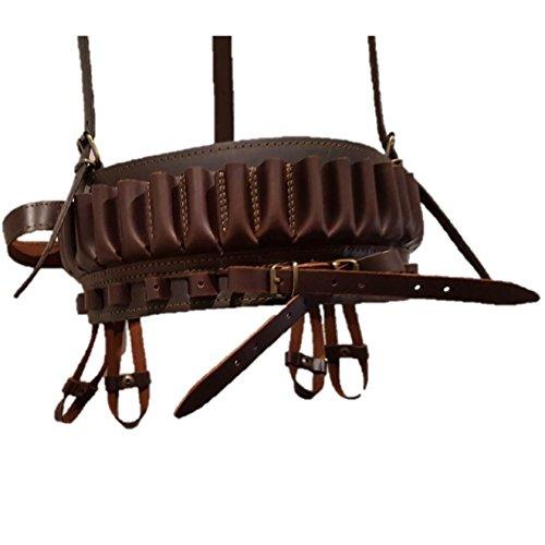 Canana de Piel, Ideal para portar perdices y Conejos.