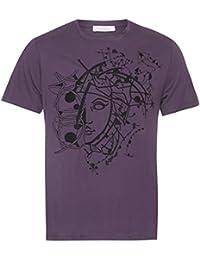 Versace - Camiseta - Étnica - para hombre morado violeta Small