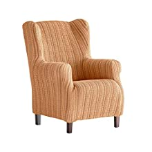 Martina Home Haber Elastic Armchair Cover Wing Chair 33x42x8 cm Gold