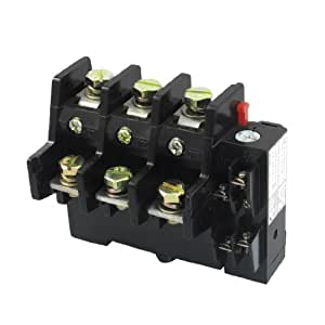 sourcingmap JR36-63 160Amp 100A-160A Adjustable 3 Pole Thermal Overload Relay 1NO 1NC