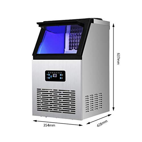 Eismaschine HLF Hersteller von tragbaren kompakten Desktop-Eiswürfeln, die in 12 Minuten Eiswürfel produzieren, einschließlich Schaufel und Wasserleitungen, Filter