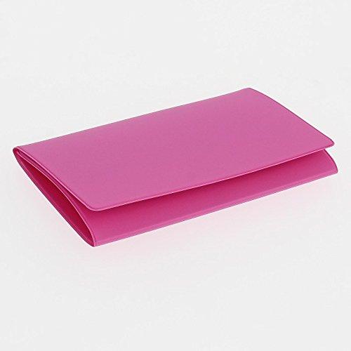 Preisvergleich Produktbild Schutzhülle PVC Radierer für Graukarte (133x 264mm) Fuchsia
