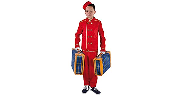 Hotel Porter Costume Bell Boy Kids Buttons