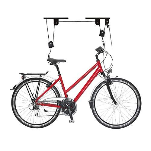 Imagen de Poleas Para Colgar Bicicletas Techo Relaxdays por menos de 15 euros.