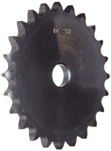 Browning 50A95 Kettenrad für Platte, einreihig, Typ A, Nabe, Stahl, 3/4 Zoll (1,9 cm), 95 Zähne -